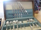 WM ROGERS Flatware 63 PC SILVERPLATE FLATWARE SET